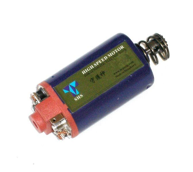 SHS High Speed motor, kort