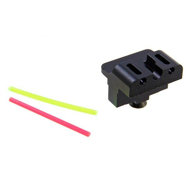 DP Fiber Optisk Bagsigte til G17