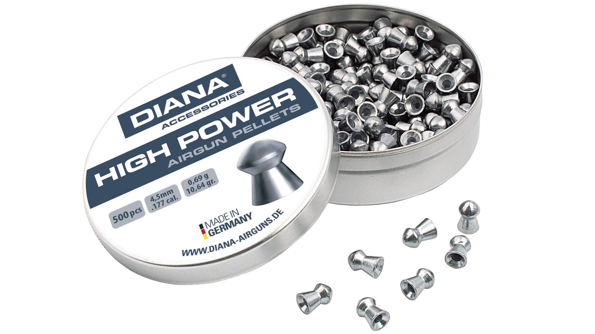 Diana High Power Hagl, 500 Stk, 4,5mm(.177)