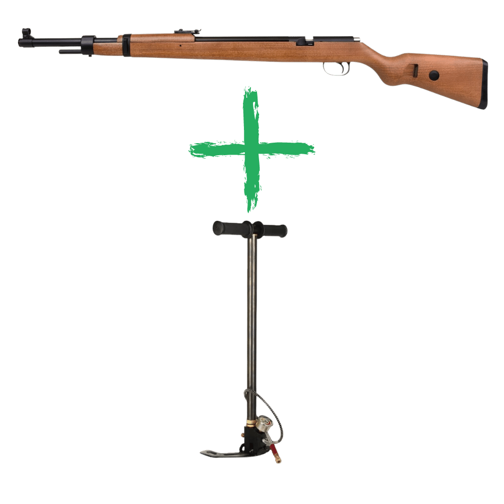 Diana Mauser K98 PCP, 4,5 mm Pakke