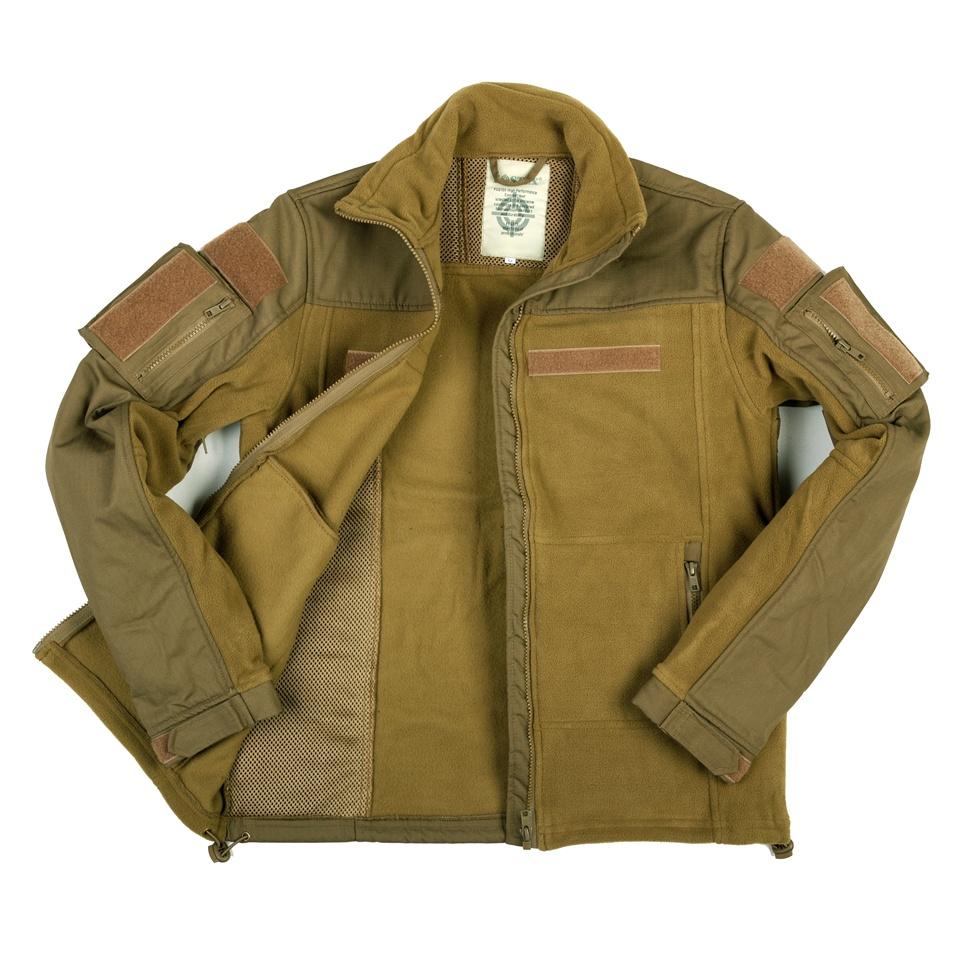 Fleece jakke, Combat, Grøn M