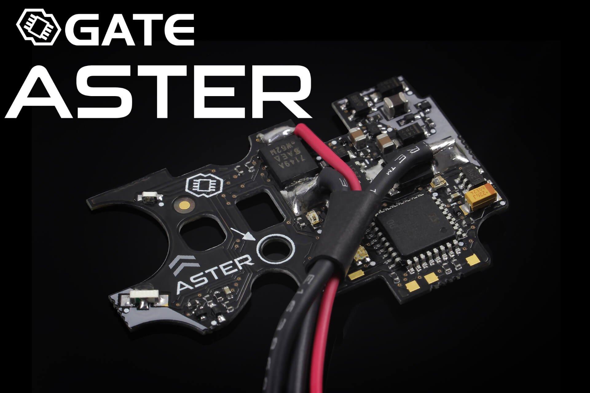 GATE ASTER V2 Basic, Ledning Bagud