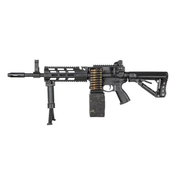 G&G CM16 LMG Stealth, Sort