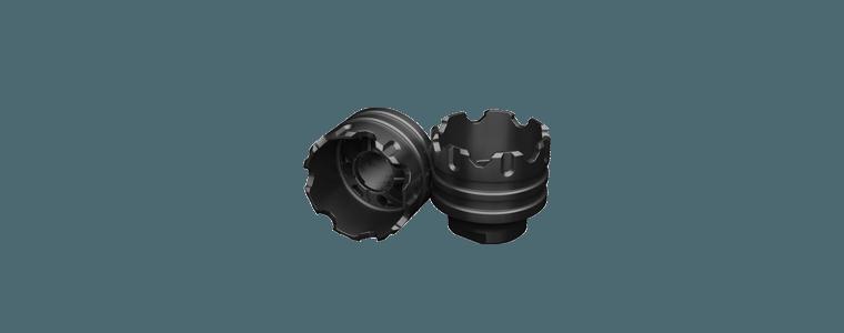 Image of   G&G Loudner battle wheel i metal, Sort