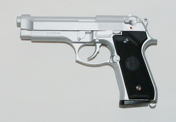 M9 sølv full metal