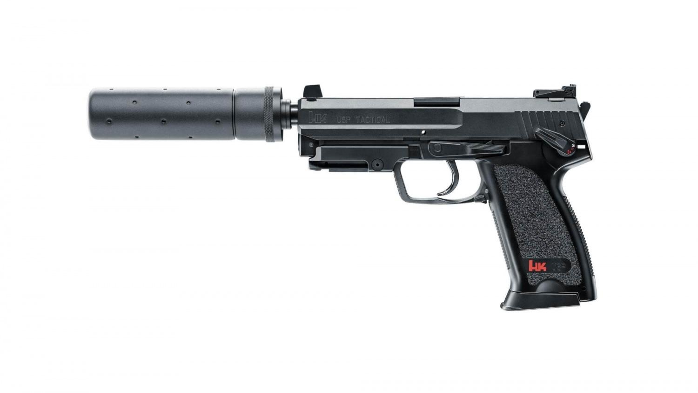 H&K USP Tactical, Elektrisk, Sort