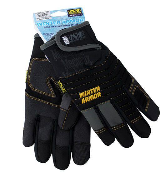 Handsker, Cold Weather, Sort, str. XXL