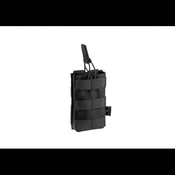 Invader Gear M4/M15 Enkelt Magasin Lomme, Sort