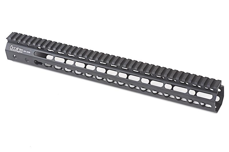 """ARES Octarms 15 """" Tactical Keymod System Handguard, sort"""
