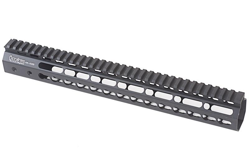 """ARES Octarms 13.5 """" Tactical Keymod System Handguard, sort"""