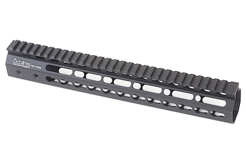 """ARES Octarms 12 """" Tactical Keymod System Handguard, sort"""