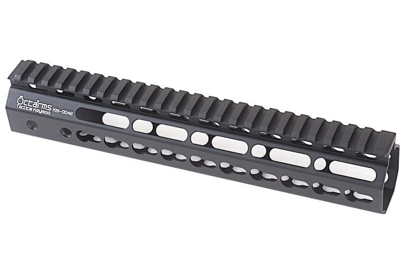 """ARES Octarms 10 """" Tactical Keymod System Handguard, sort"""