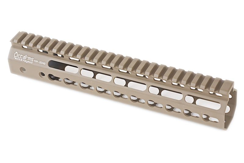 """ARES Octarms 10 """" Tactical Keymod System Handguard, DE"""