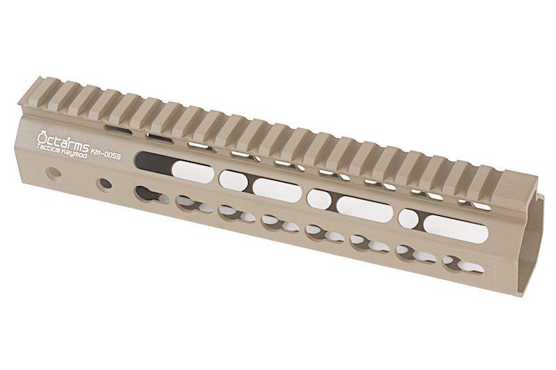 """ARES Octarms 9 """" Tactical Keymod System Handguard, DE"""