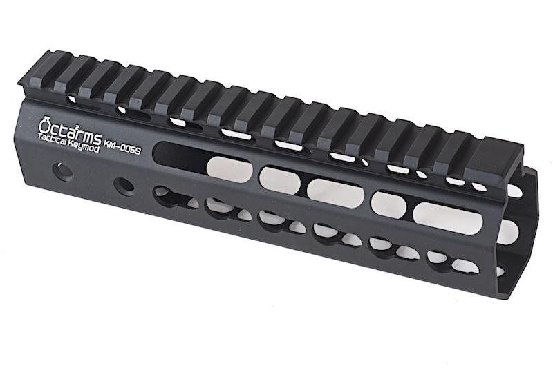 """ARES Octarms 7 """" Tactical Keymod System Handguard, sort"""