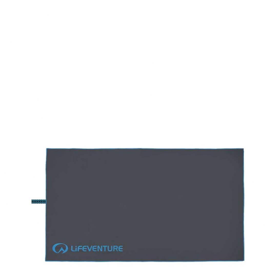Billede af Lifeventure SoftFiber Håndklæde, Grå, Large