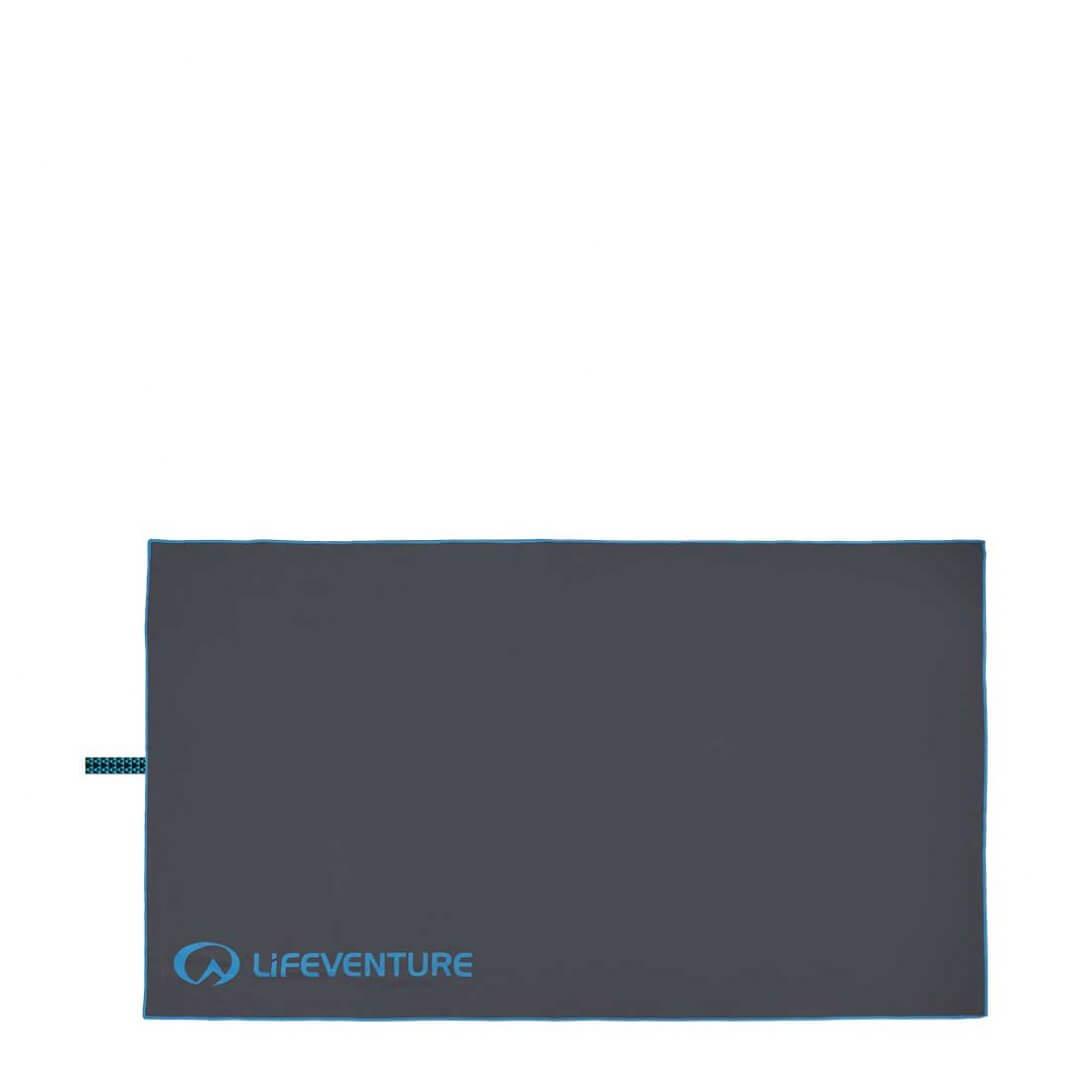 Billede af Lifeventure SoftFiber Håndklæde, Grå, XL