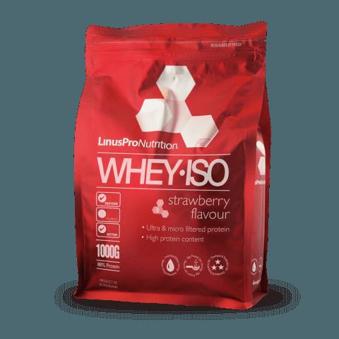 LinusPro Whey ISO Proteinpulver, Jordbær