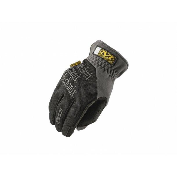 Fastfit handske, Sort