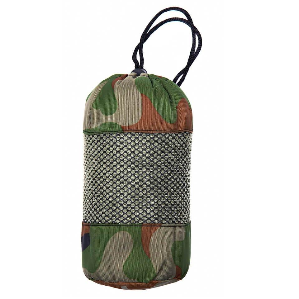 Mikrofiber håndklæde 120x60, Camo grøn