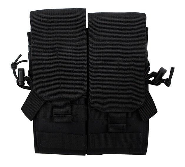 Molle taske, til 4 stk. M4 magasin, Sort