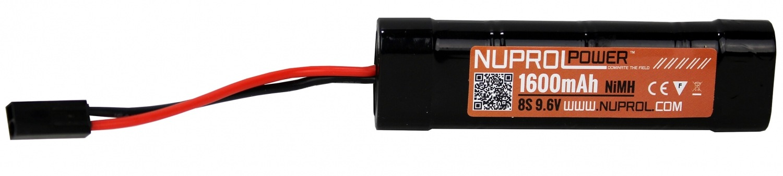 Nuprol 9,6V Batteri, 1600 mAh