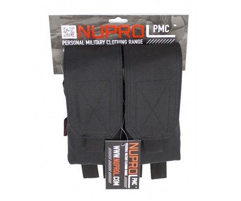 PMC M4 dobbelt magasin taske, Sort