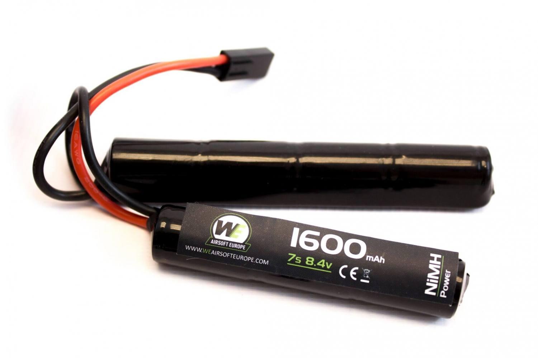 Nuprol 8,4V batteri, 1600 mAh, Crane Stock