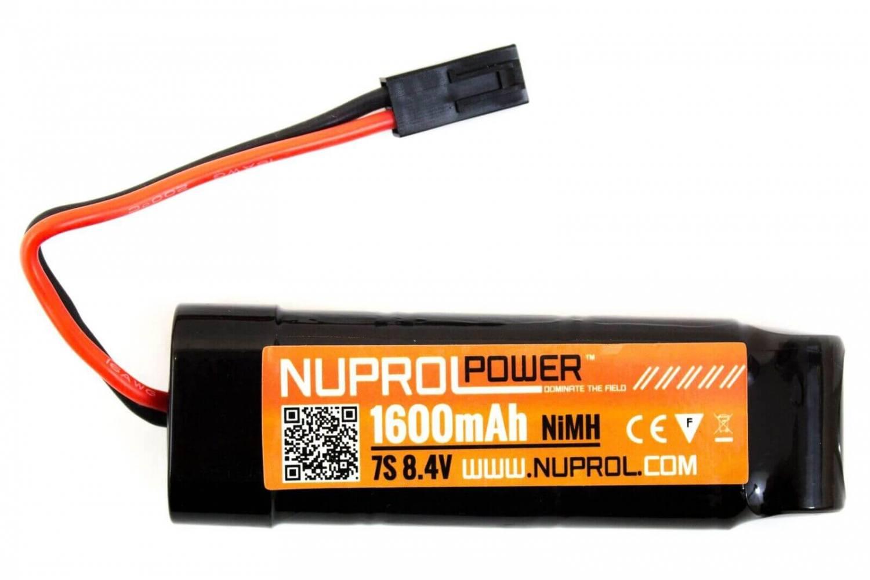 Nuprol 8,4V Batteri, 1600 mAh