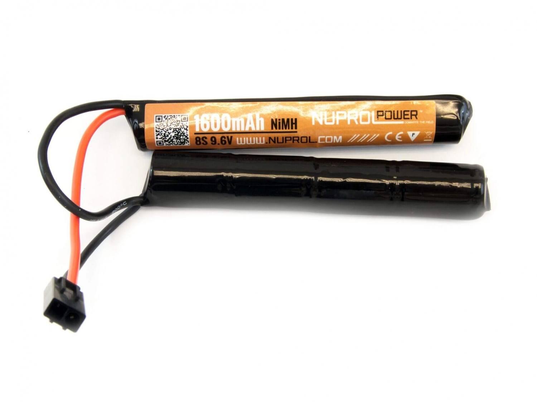 Nuprol 9,6V batteri, 1600 mAh, Crane Stock