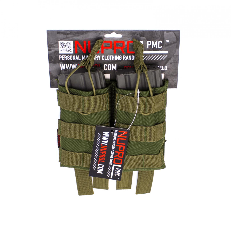 Nuprol PMC Dobbelt magasin lomme, M4, Grøn