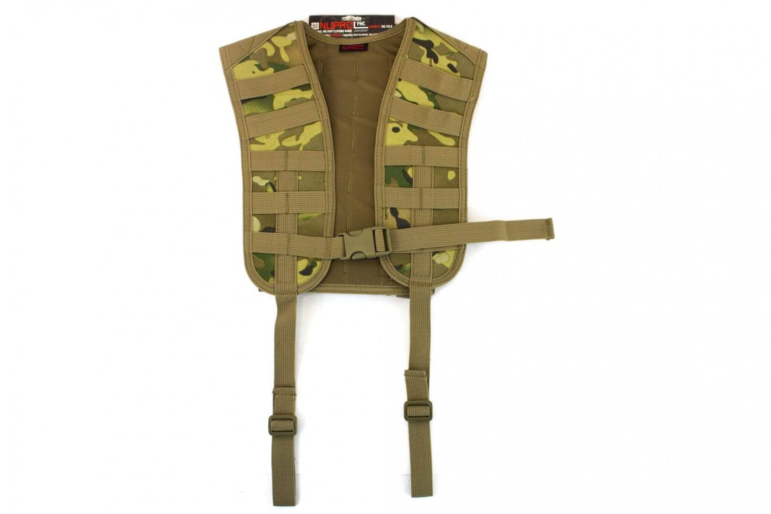 Nuprol PMC Molle Harness, Multicam