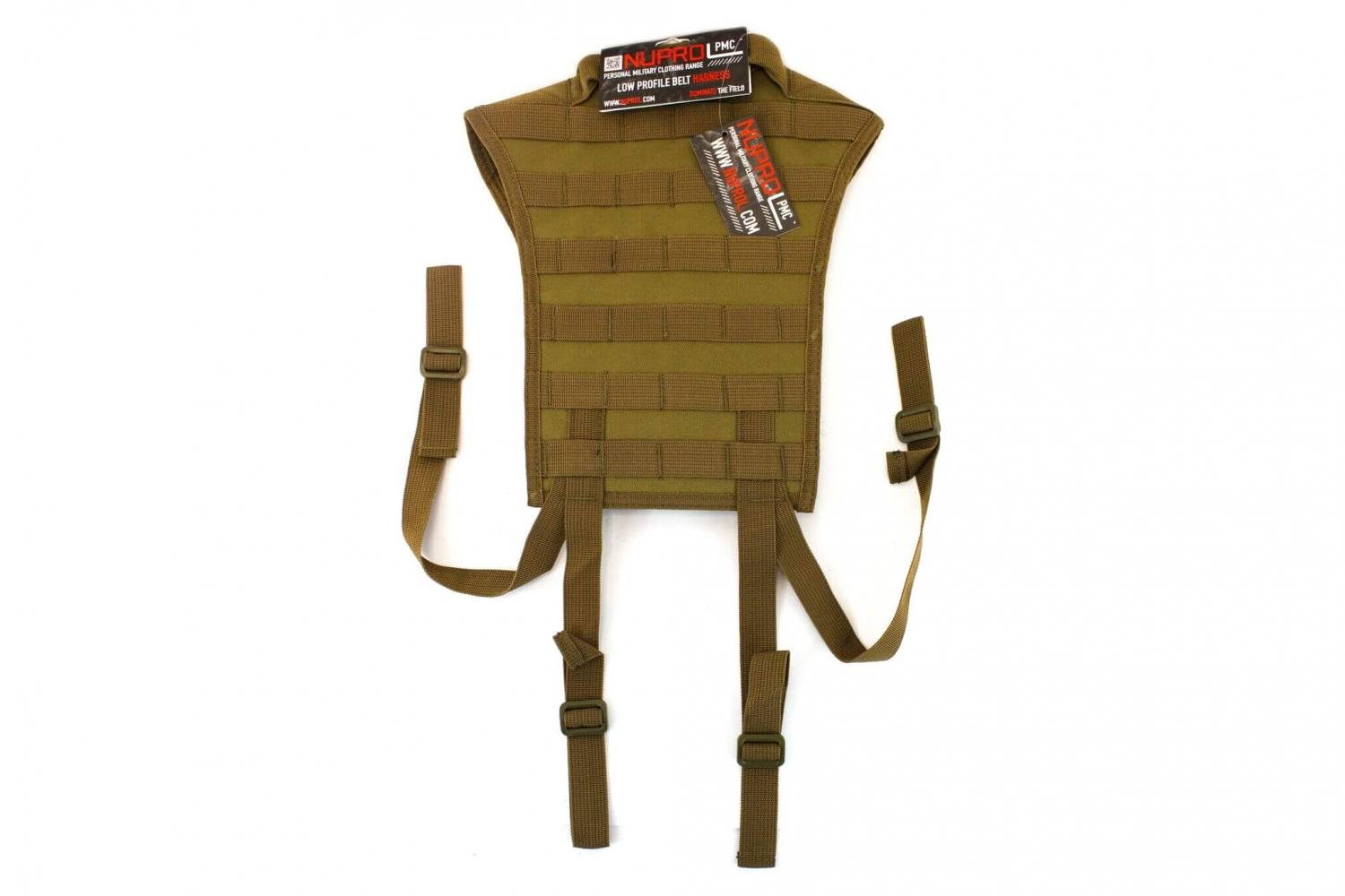 Nuprol PMC Molle Harness, Tan
