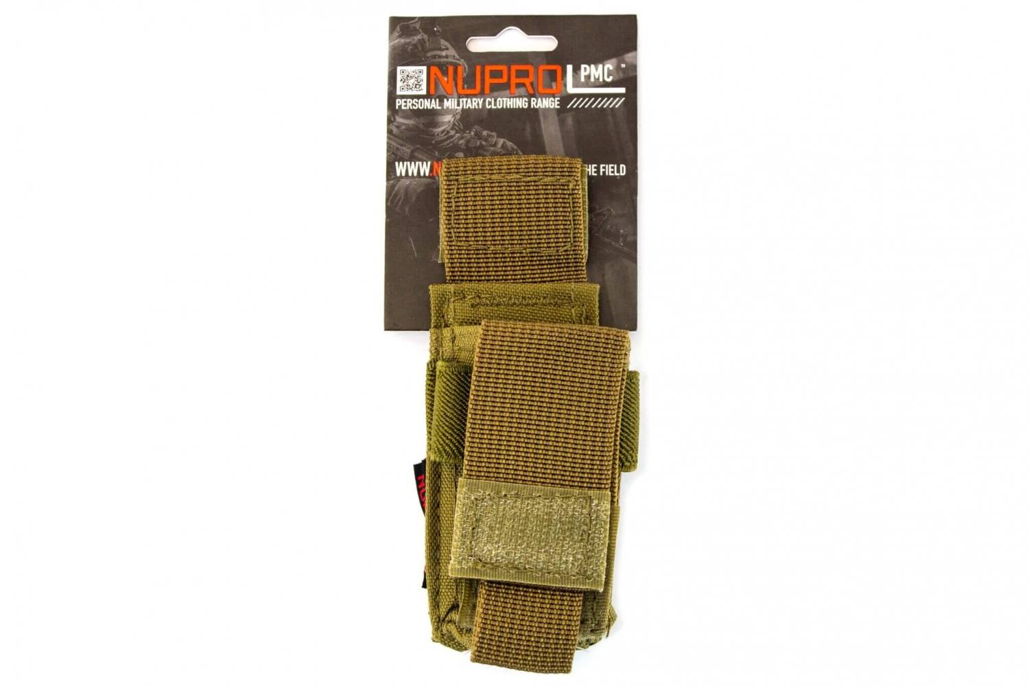 Nuprol PMC Pistol magasin lomme, Tan