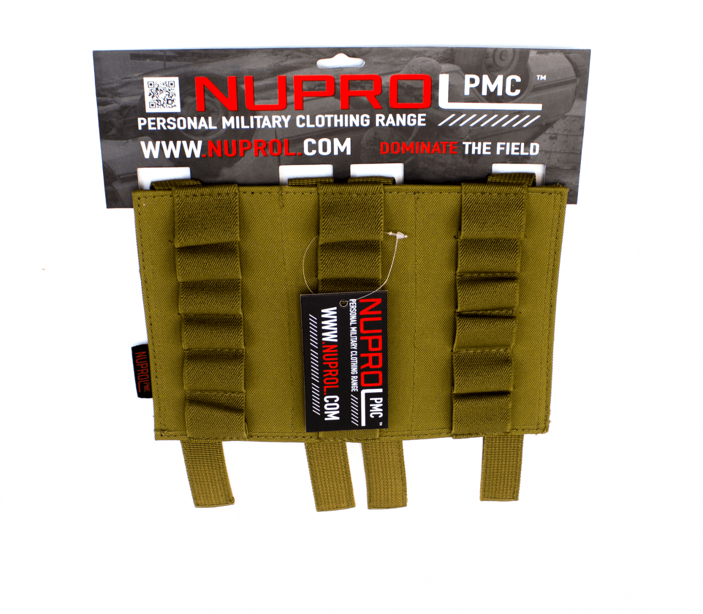 Nuprol PMC Shotgun shell lomme, Tan