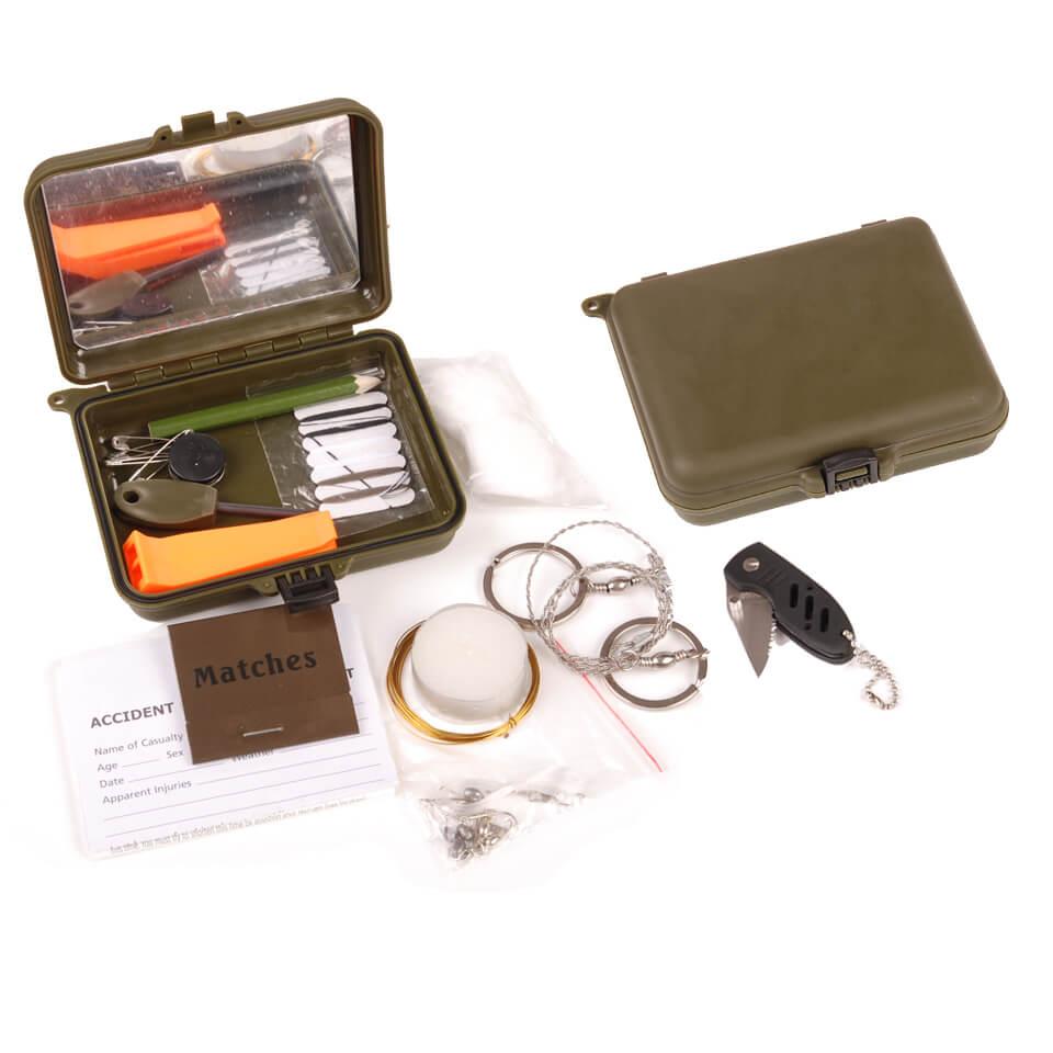 Overlevelses kit Grøn