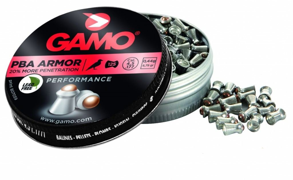 Gamo PBA Armor, 75 stk, 5,5mm(.22)