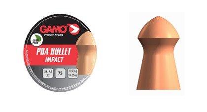 Gamo PBA Bullet Impact, 75 stk, 5,5mm(.22)