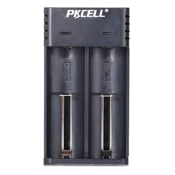 PK Cell 18650 Dual Oplader