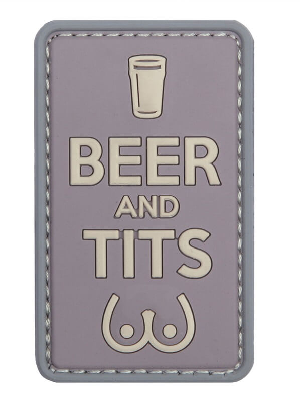 Patch Beer and Tits, Multicam
