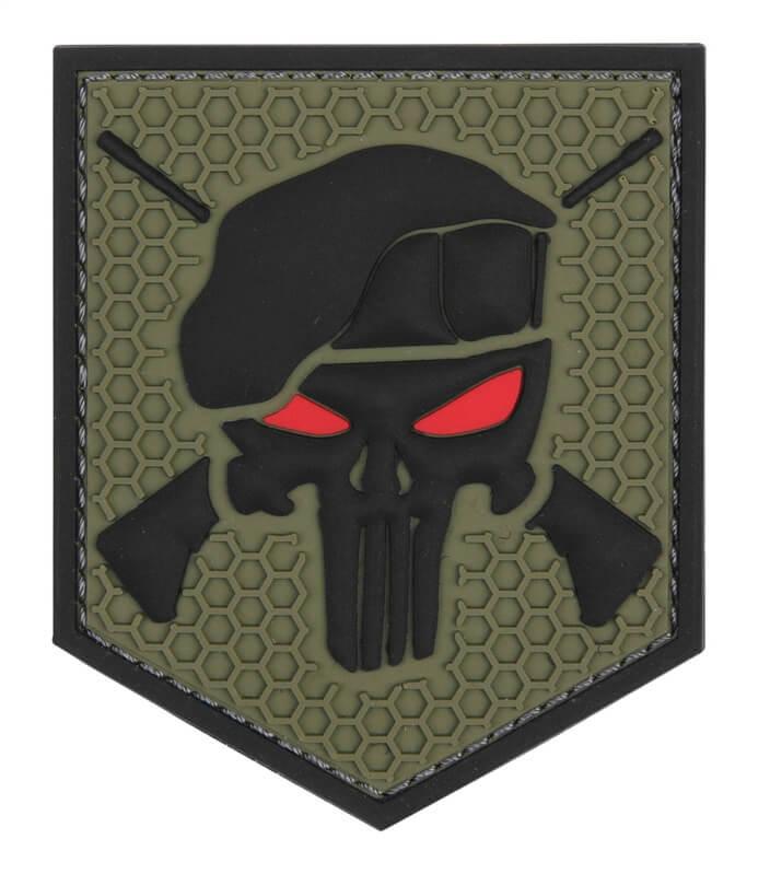 Patch Commando Punisher, Grøn