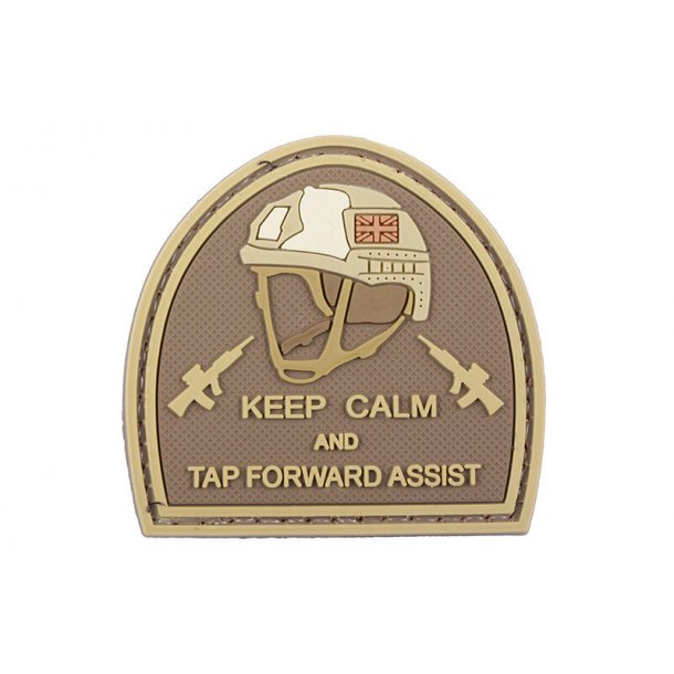 Patch PVC, Keep Calm and Tap Forward
