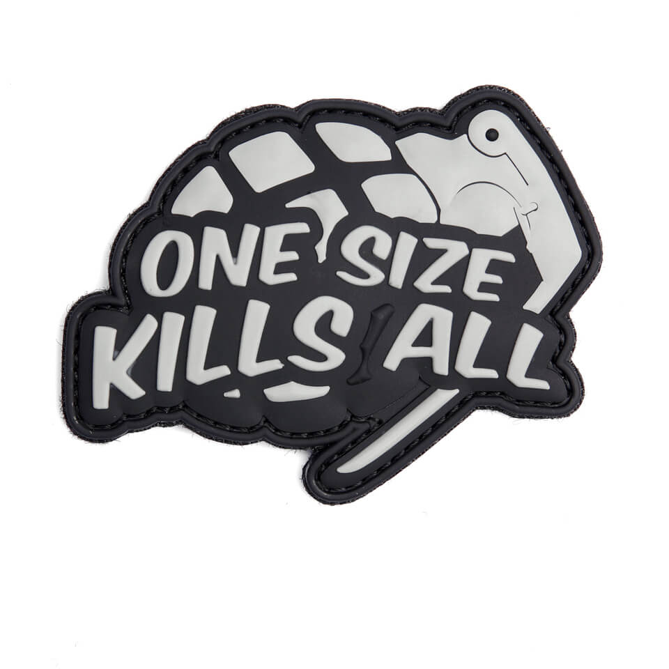 Patch One Size Kills All, Grå