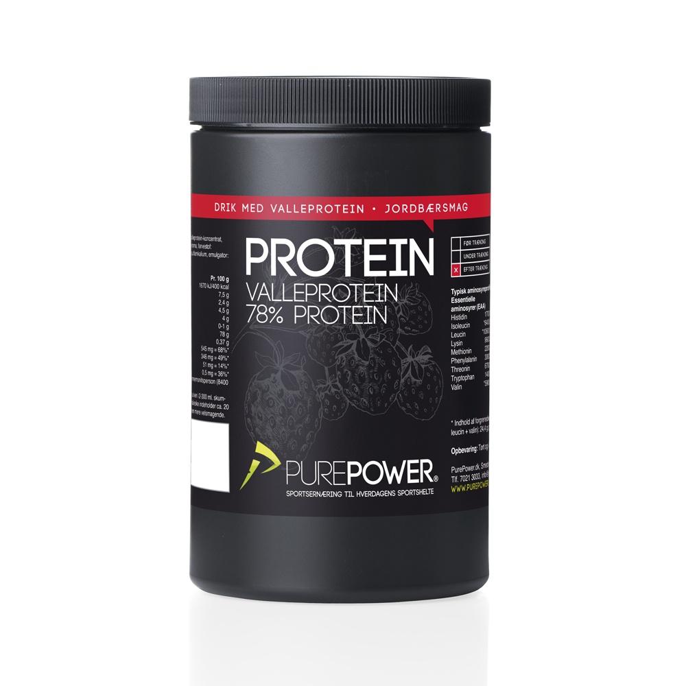 Proteinpulver, Jordbær