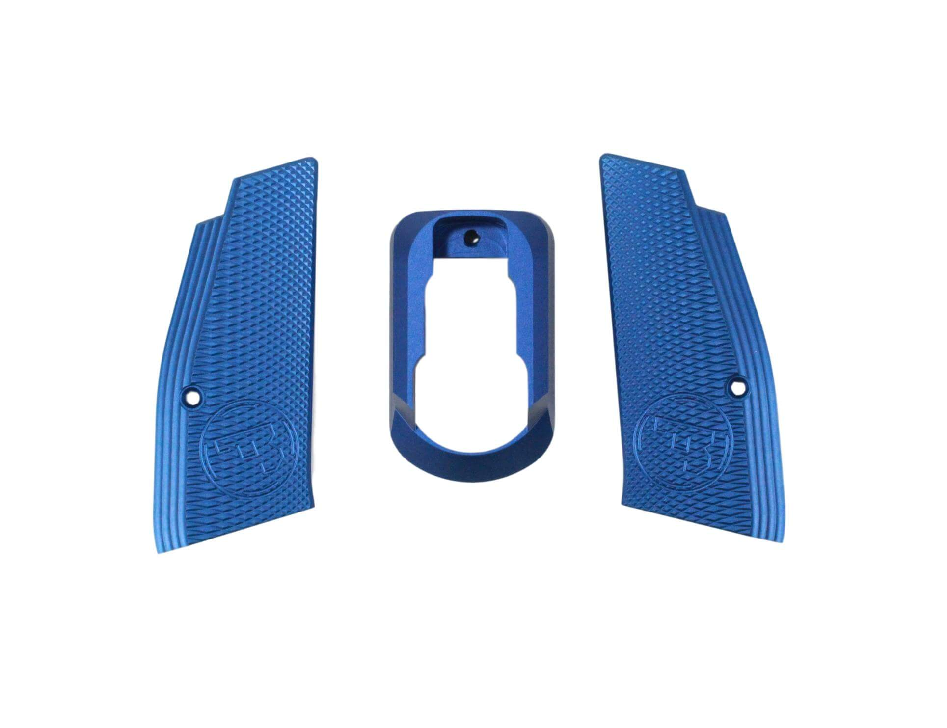 Billede af Action Sport Games, Short grip and mag. funnel. CZ SP-01 Shadow, Blue
