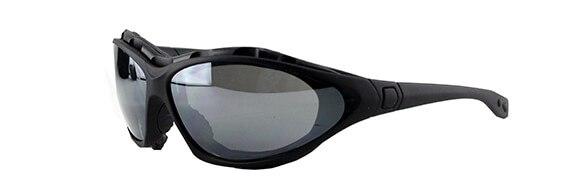 Skyde brille med 3 linser