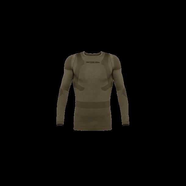 Langærmet Holdningskorrigerende Trøje i uld, Militær