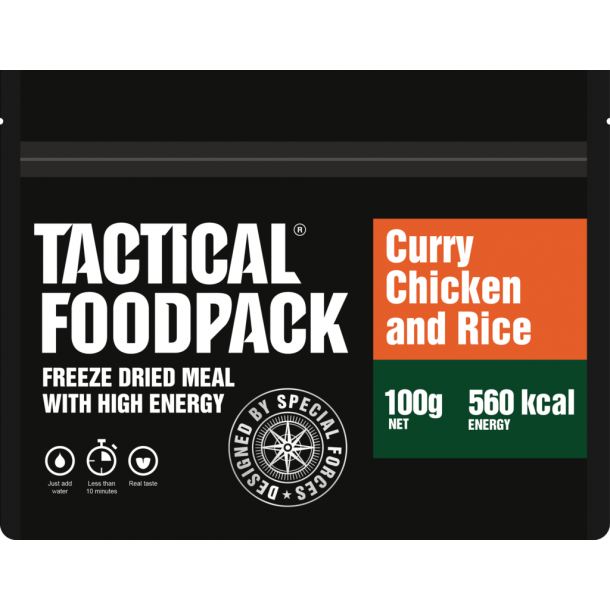 Tactical Foodpack, Kylling i Karry