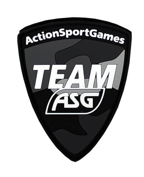 Team ASG Patch (PVC) - Black Multicam