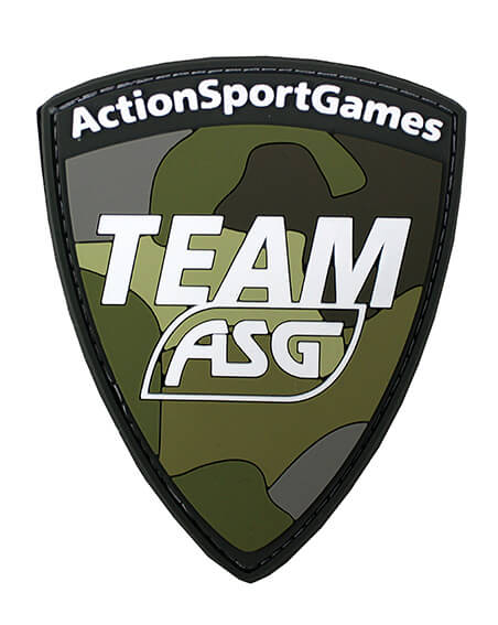 Team ASG Patch (PVC) - Multicam